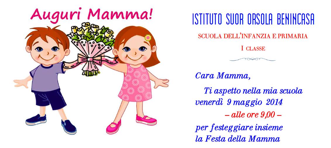Scuolesob Invito Festa Della Mamma