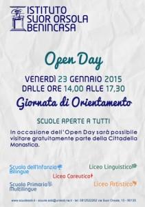 open day scuole 2015